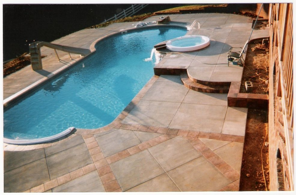 Mcgee Pool Owner Of Ds Atlantic Construction With Images Pool Pool Owner Backyard Remodel