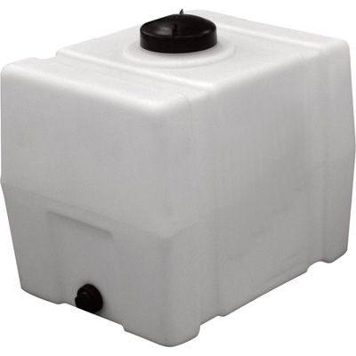 Romotech Poly Storage Tank Square 100 Gallon Capacity Model 2392 In 2020 Storage Tank Storage Tanks Water Storage