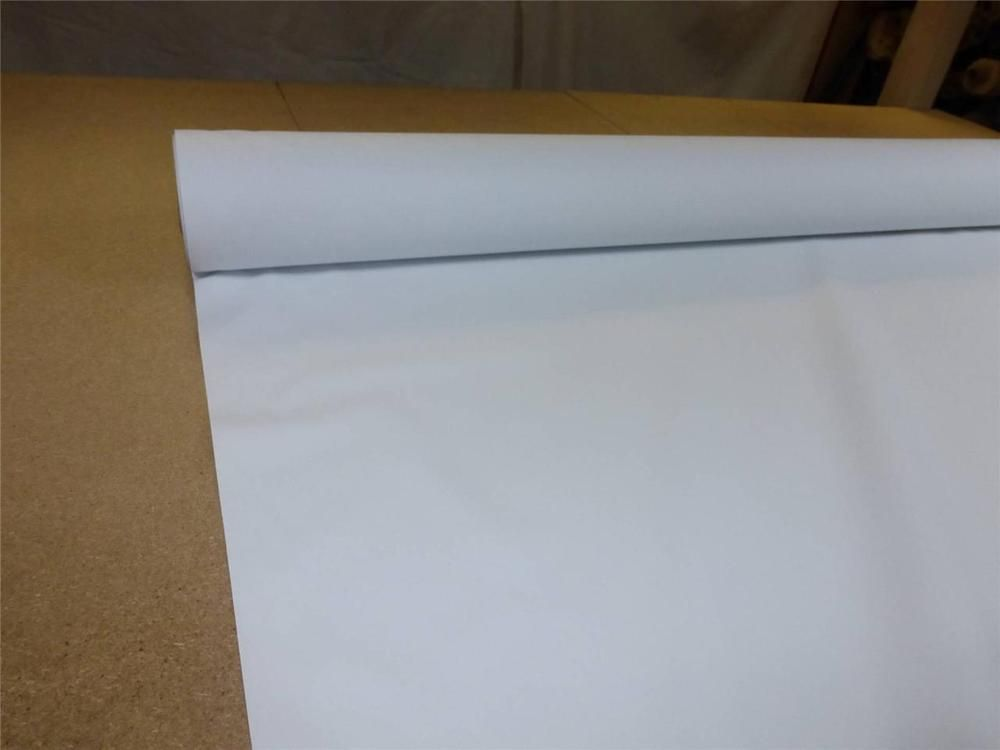 """THERMAL BLACKOUT CURTAIN LINING FABRIC 54/"""" wide WHITE SUPER SOFT FINISH"""