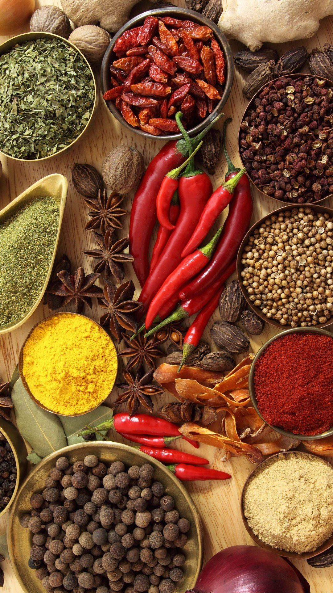Spices Hd Wallpaper Best Iphone Wallpaper Food Wallpaper Homemade Spices Spices Photography