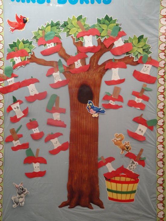 Fall Bulletin Board Ideas For Preschool