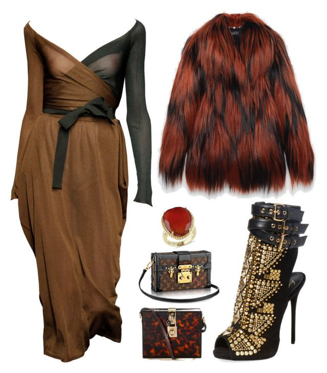 """""""Ride of the Valkyries"""" by ana-aleta ❤ liked on Polyvore featuring Dolce&Gabbana, Ice, Giuseppe Zanotti, Gucci, women's clothing, women's fashion, women, female, woman and misses"""