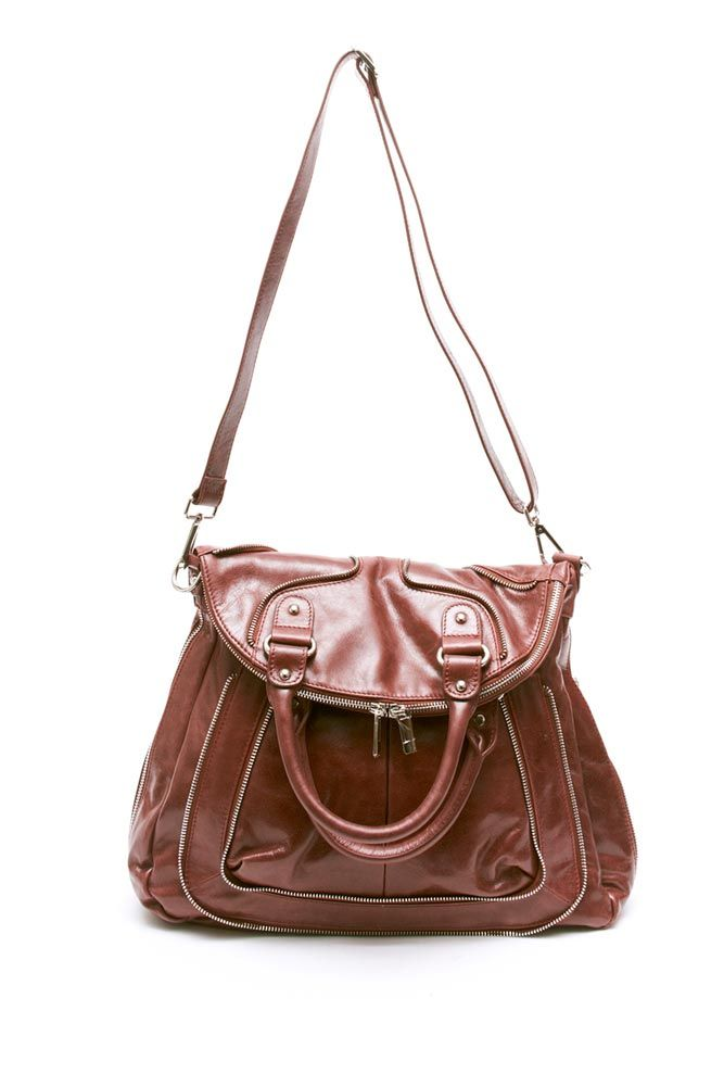 Carrie by Pink Corporation - Stunning leather messenger bag ...