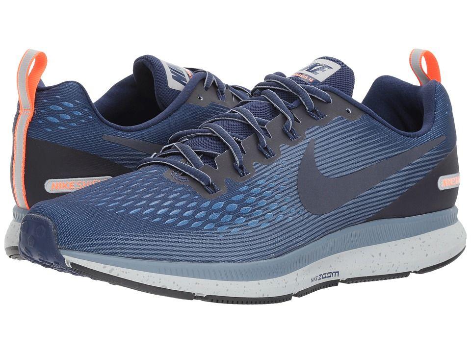2c02eeb86d9b Nike Air Zoom Pegasus 34 Shield (Binary Blue Obsidian Armory Blue) Men s  Shoes  new