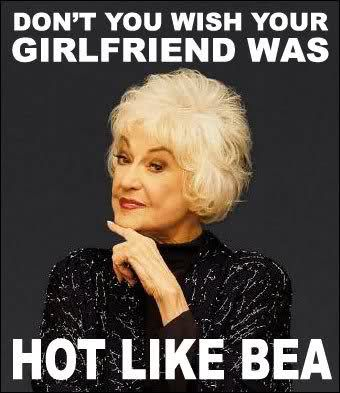 Bea Arthur = true talent, intelligence, animal activist, former marine, golden girl, feminist, Maude