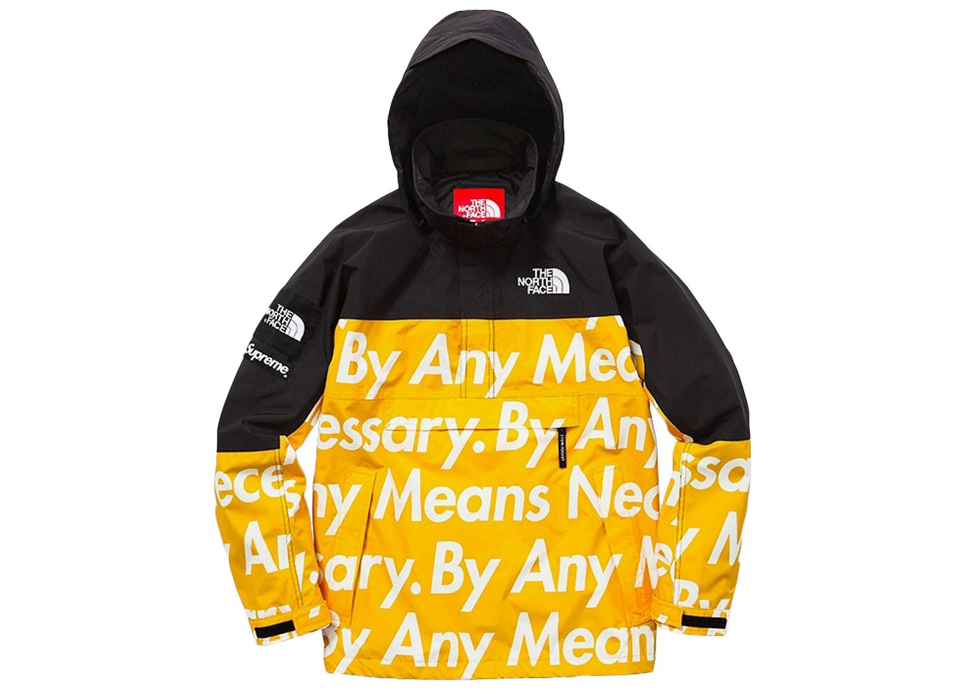 Supreme The North Face By Any Means Mountain Jacket Yellow Supreme Cloth Mountain Jacket The North Face Star Fashion [ 1000 x 1400 Pixel ]