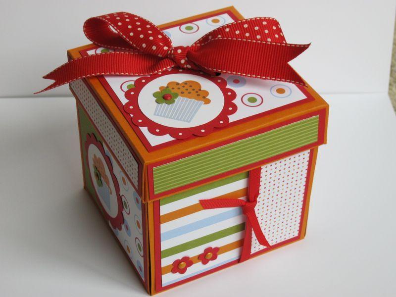 Happy Birthday Explosion Box Birthday explosion box