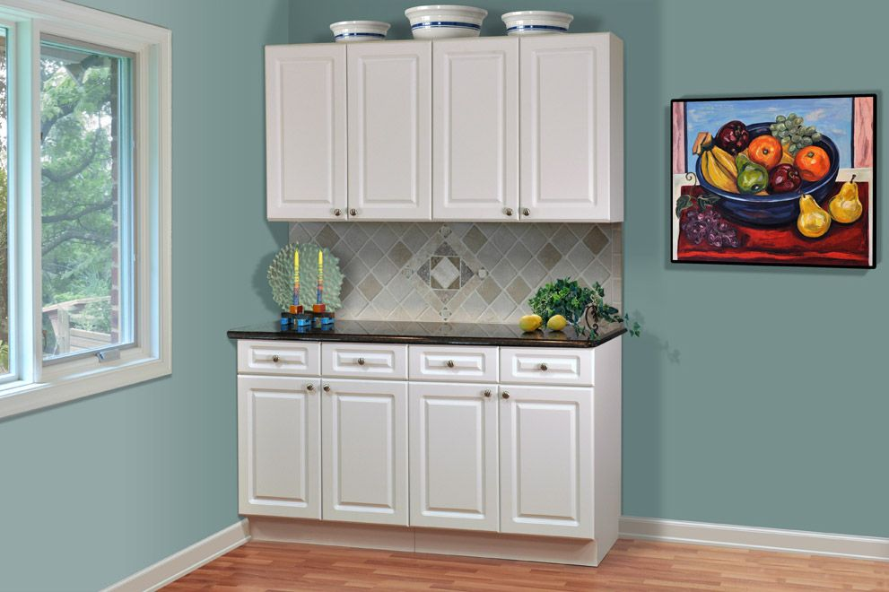 discount cabinets | white thermofoil) - discount rta kitchen