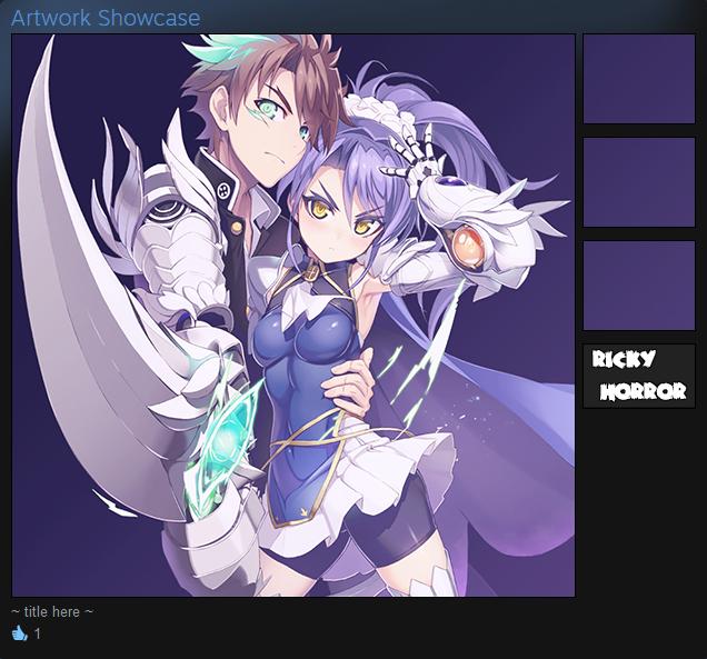 Basara and Kurumi Custom Steam Showcase by rickyhorror
