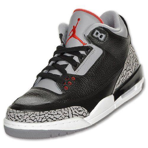 Nike Air Jordan 3 Retro 88 Black Cement Style#136064 010 (12) |