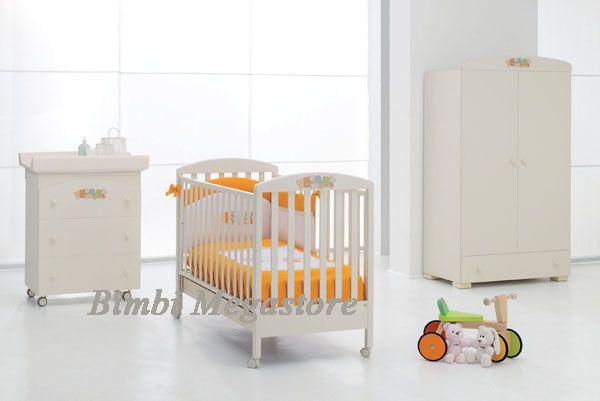 Erbesi Camerette ~ Erbesi baby lettino lettino con ampio cassetto realizzato in