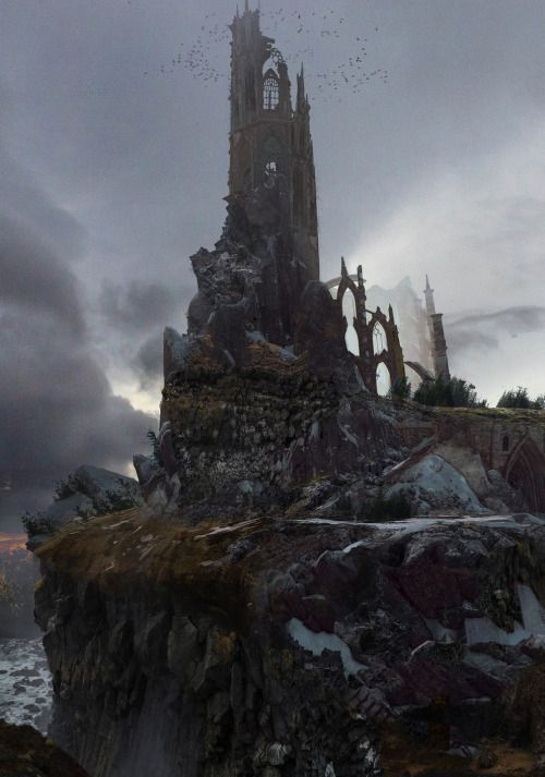 The Tower By Blake Rottinger Fantasy Art Watch Fantasy Concept Art Fantasy Art Fantasy Inspiration