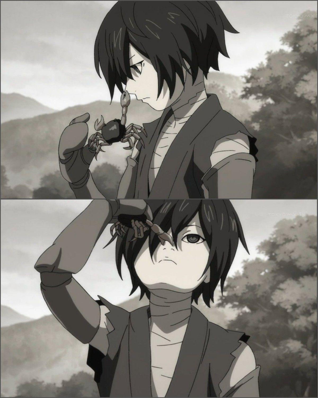 Manga Anime Dororo: Look At Him Being A Cutie. Hyakkimaru