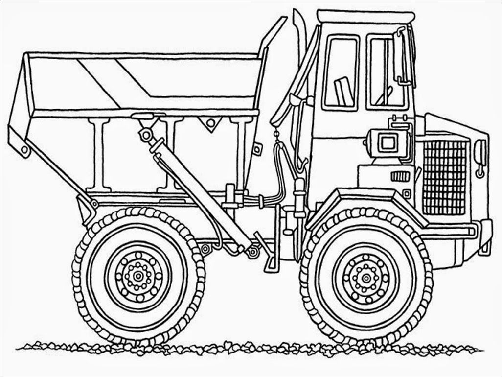 Chuck The Dump Truck Coloring Pages Monster Truck Coloring Pages Truck Coloring Pages Coloring Pages For Kids