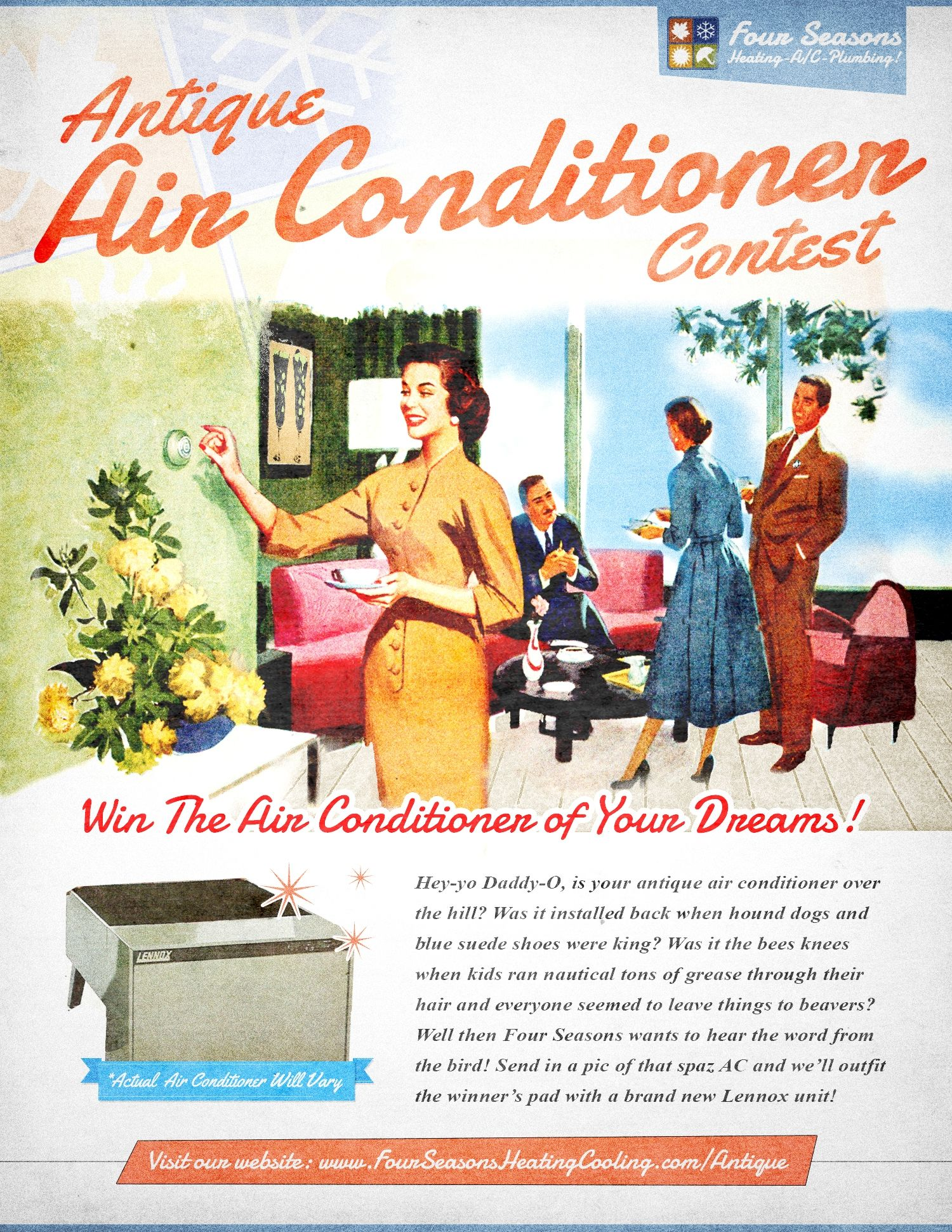 Antique Air Conditioner Contest Chicago Il Retro Ads Vintage