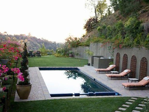 outdoor designer lap pools