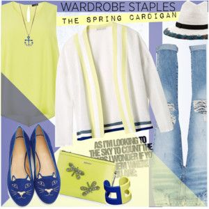 Wardrobe Staple: The Spring Cardigan