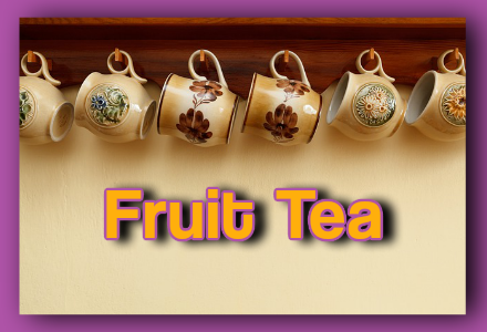 """""""Iced Passion Fruit Tea"""" which is rich in vitamin A and C with your daily dose of fiber and iron…and racks in loads of energy for you.  #fruittea"""