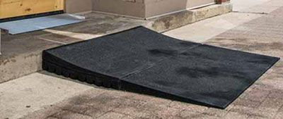 2 5 Inch Rubber Threshold Ramps Portable Wheelchair Ramp