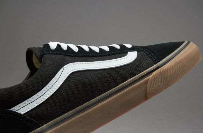 vans grey old skool gum sole