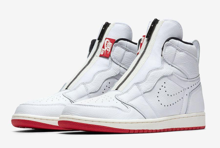Air Jordan 1 High Zip Black Royal White Red Release Date Sbd