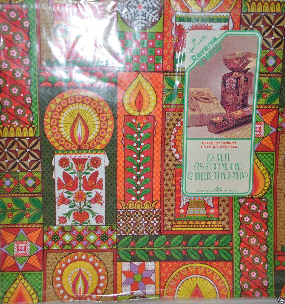 Vintage Hallmark Reverse a Wrap Christmas Holiday Gift ...