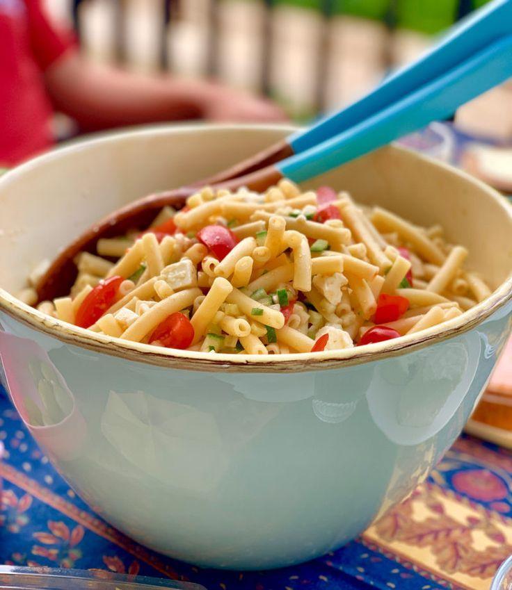 La migliore insalata di pasta senza maionese La migliore insalata di pasta senza maionese