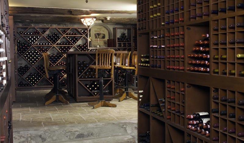 cave vin avec casiers bouteilles cuisine pinterest cave casiers et vin. Black Bedroom Furniture Sets. Home Design Ideas