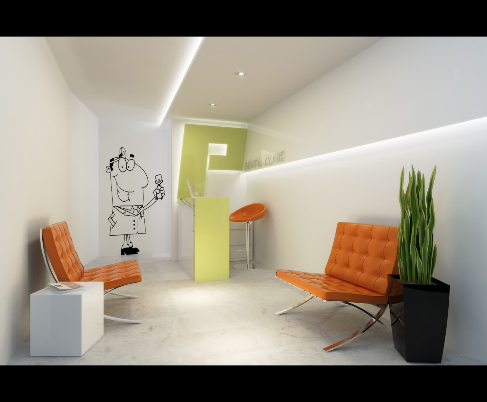 Proper Dental Clinic Interior Design Is Answerable For The Harmonious And Other People Oriented Atmosphere In All Areas Of