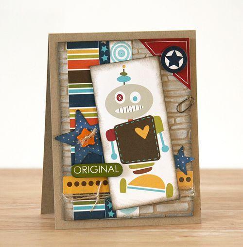 LaurieSchmidlin Original Robot Card