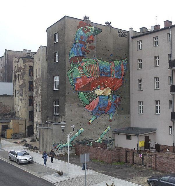 Aryz #greaturbanart #streetart #graffitiart #freewalls #art #graffiti #urbanart #wallmurals #streetartists #aryz