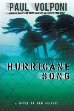 Hurricane Song by Paul Volponi. Miles and his dad are new to NOLA when Hurricane Katrina hits and father and son must evacuate to the Superdome. Important to class: shows the complexities of father-son relationships. Important to me: reminds/teaches students about Hurricane Katrina and life in NOLA.