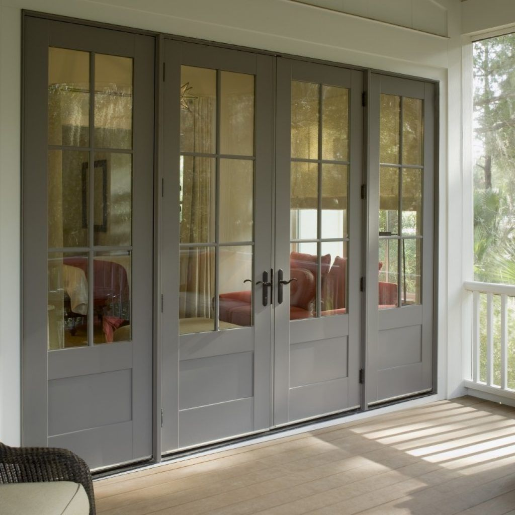 Vinyl Clad Exterior French Doors