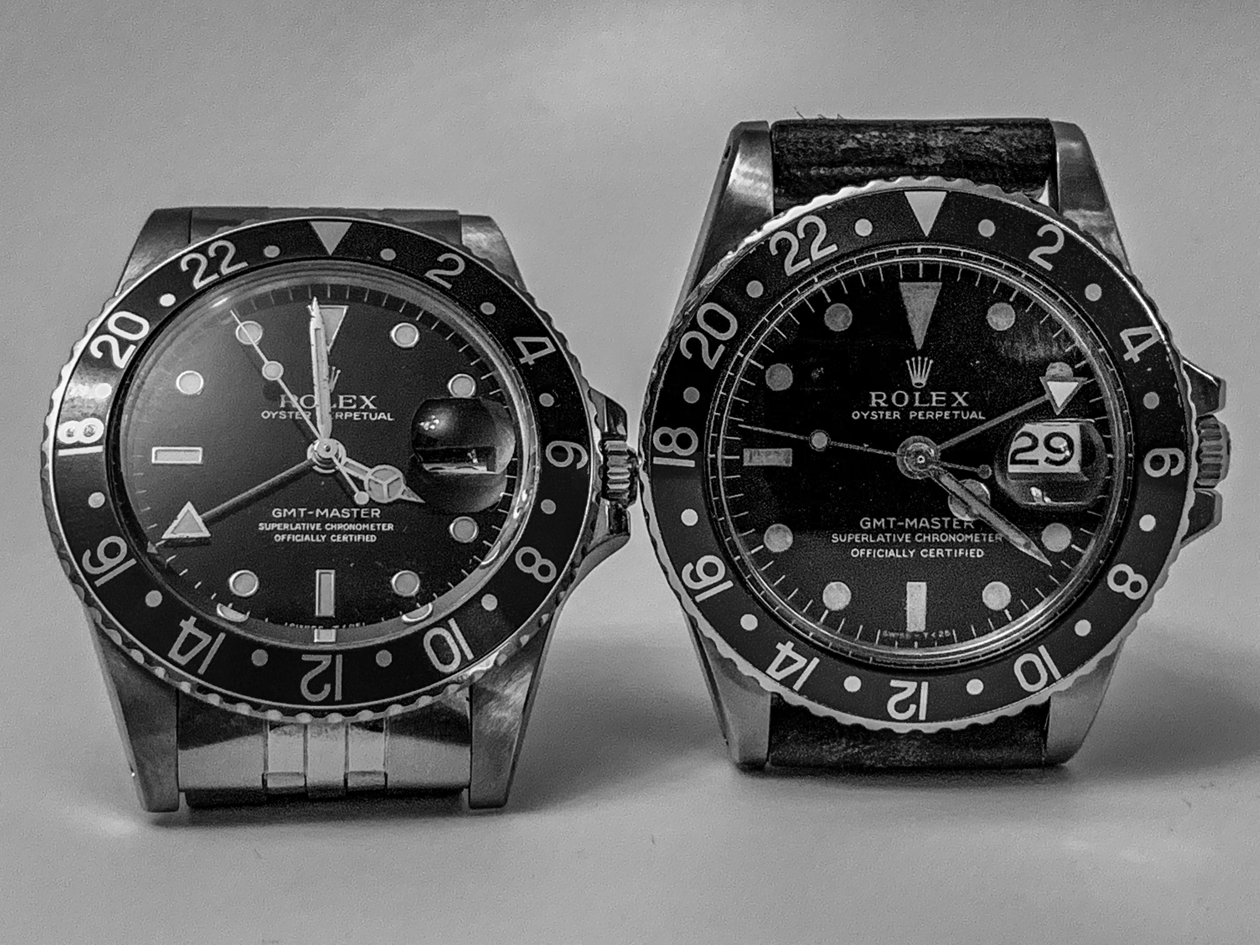Rolex Old Beat Up Tool Watches