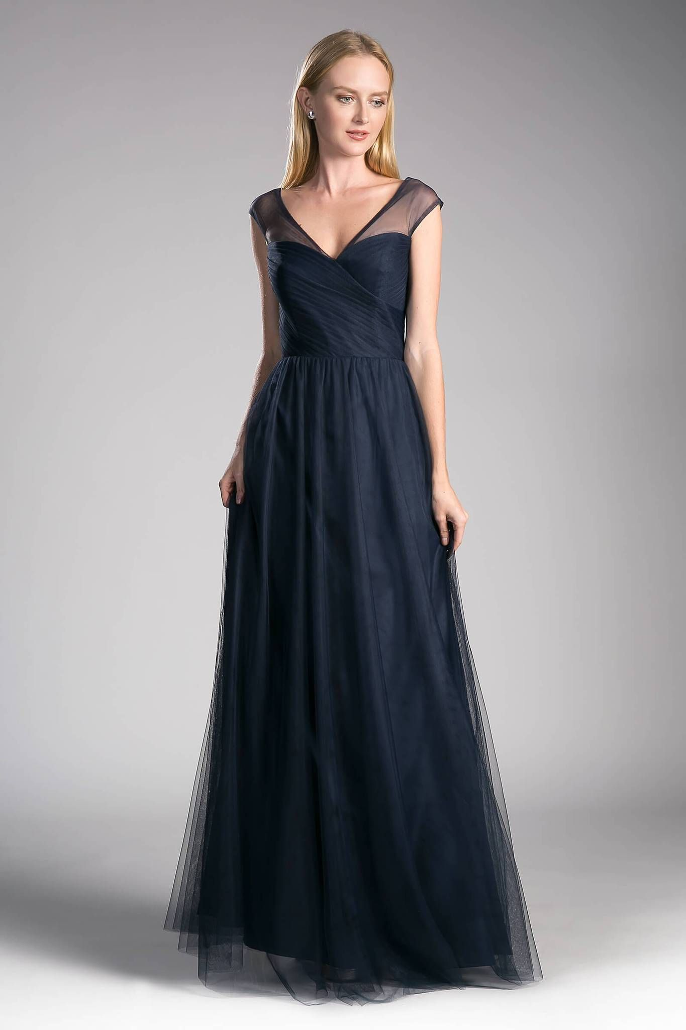 a03918f3710 Long Plus Size Formal Dress Bridesmaid Gown in 2019