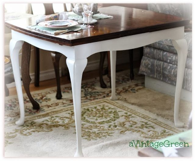 A Vintage Green Table