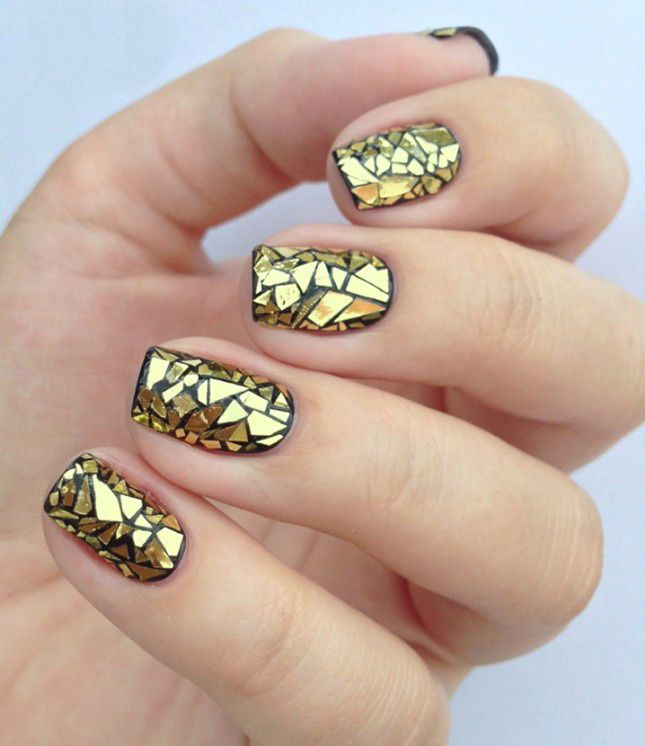 Learn How To Create A Glass Mani With This Tutorial
