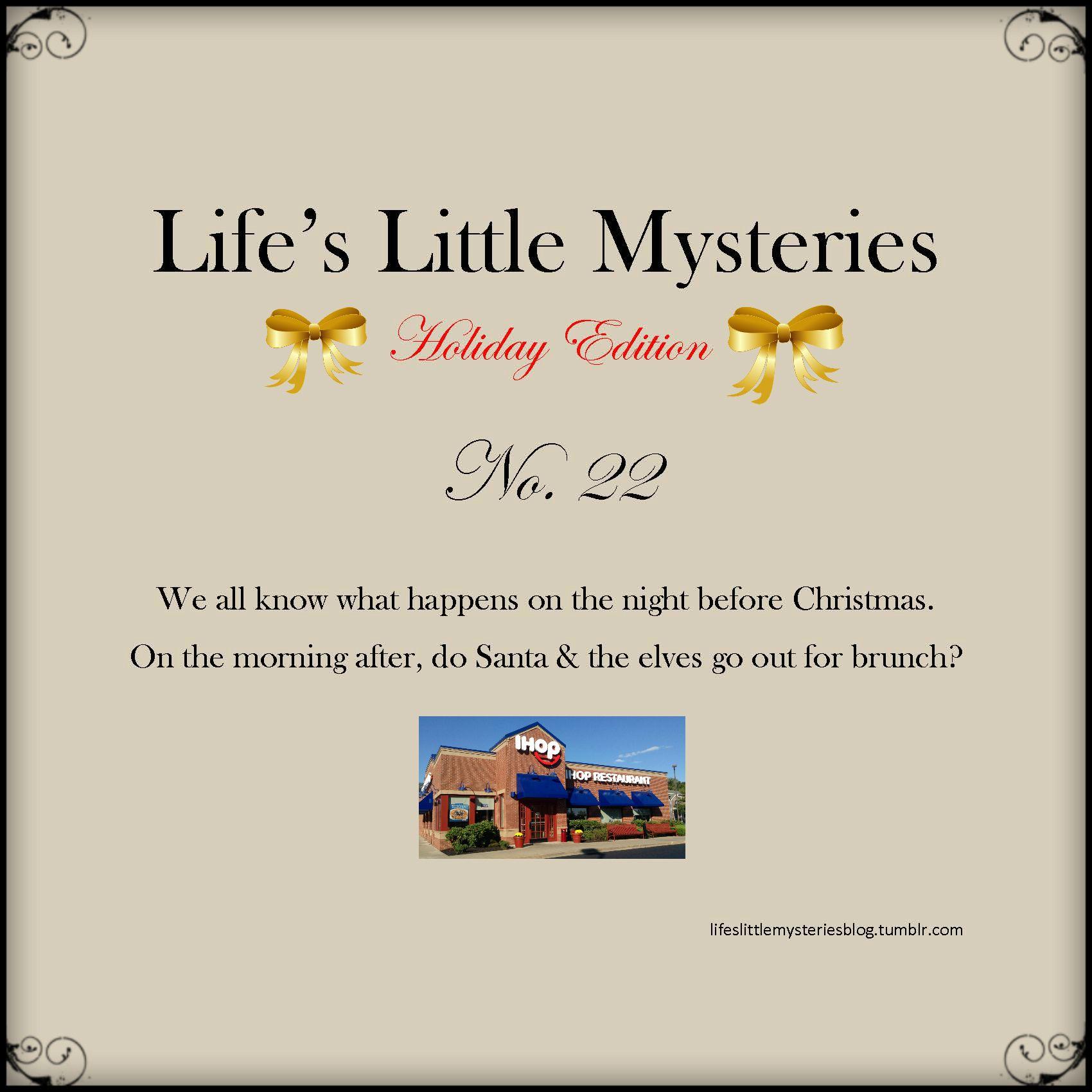 What happens at IHOP stays at #IHOP. #Santa #Christmas #Xmas #Humor ...
