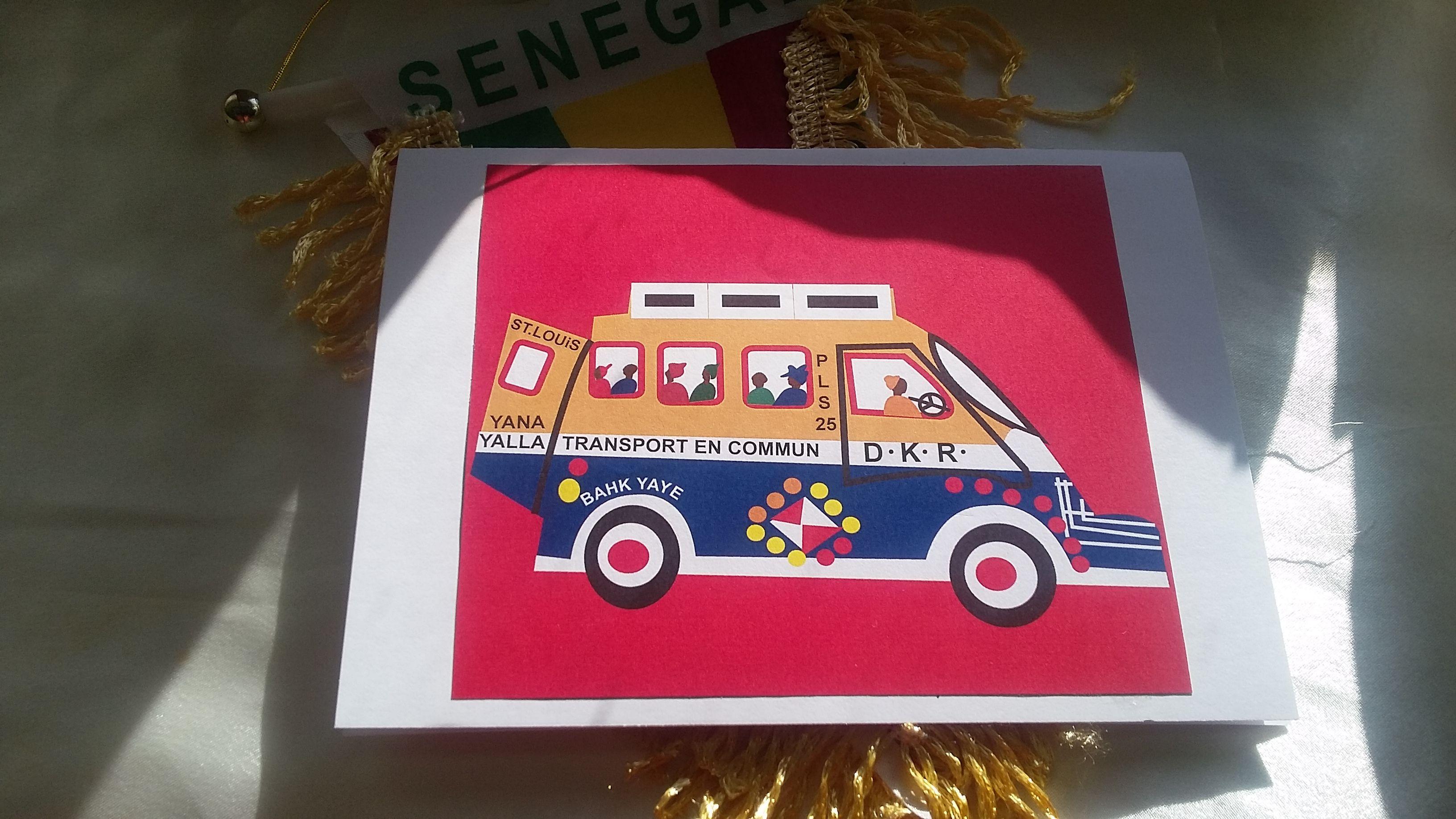 Dakar senegal blank greeting card kdboutik pinterest by khuluwddesignsboutik dakar senegal blank greeting card m4hsunfo
