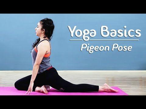 how to do the pigeon pose  eka pada rajakapotasana  yoga