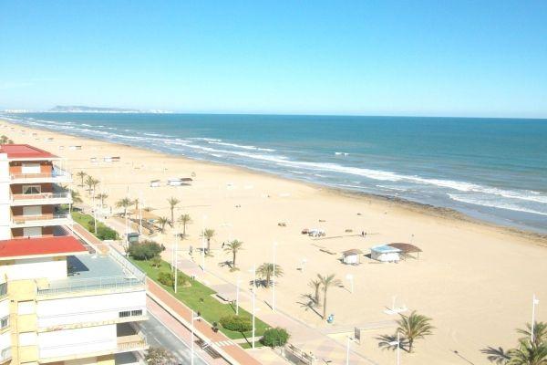 Playa De Gandia Valencia Playa Valencia Viajar Por Espana