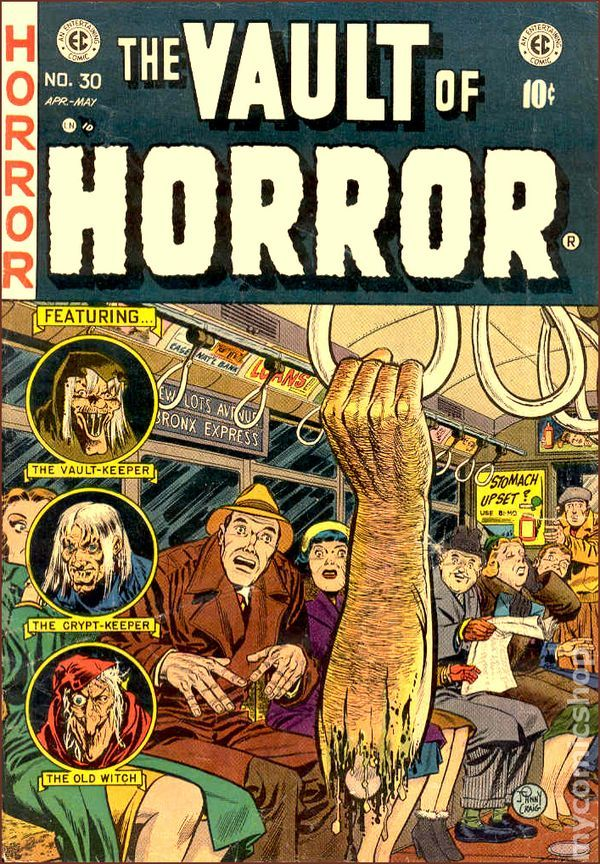Image result for ec comics vault of horror
