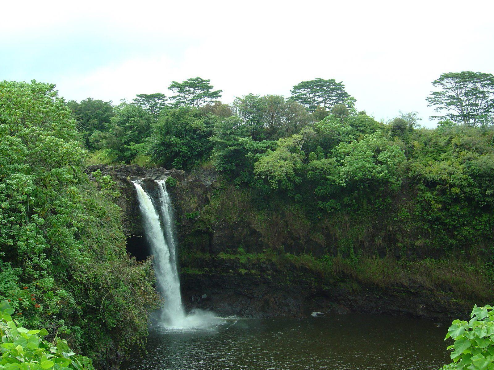 Rainbow Falls ~ Hilo, Hawaii