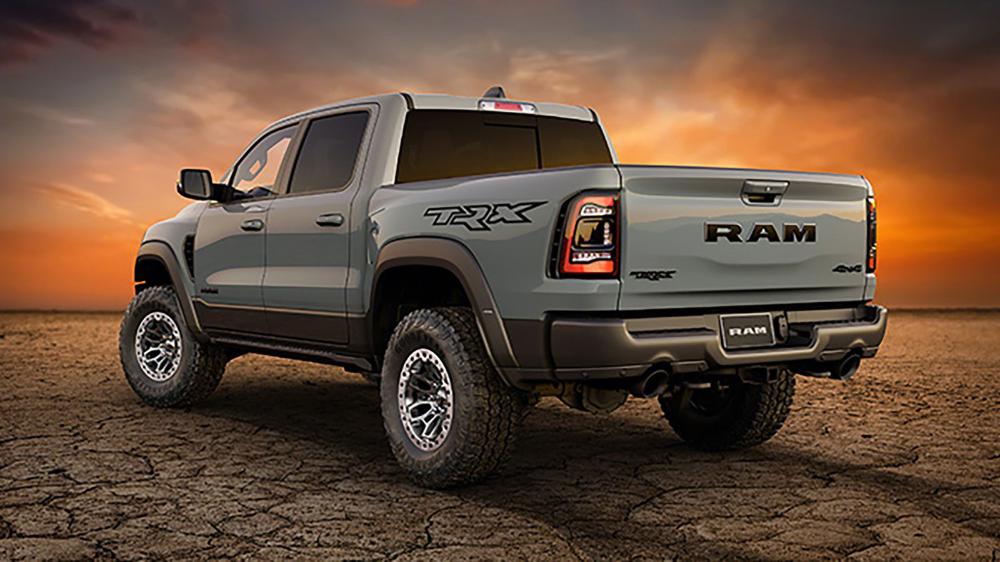 2021 Ram 1500 Trx Revealed With A Hellcat V8 Ready To Take On Raptor Pickup Trucks Trx Ram 1500