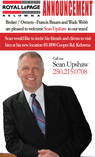 Please join us in Sean Upshaw to the team Real