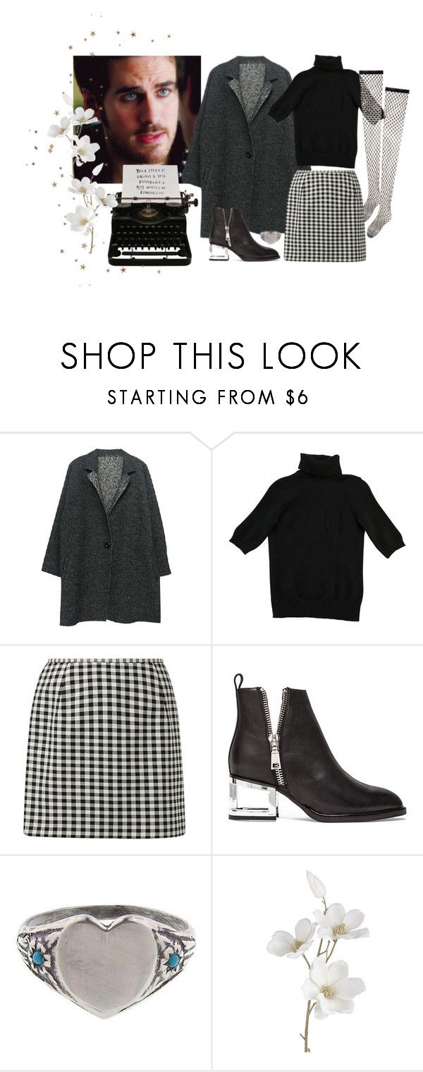 """""""tell me a good story"""" by annagasztold ❤ liked on Polyvore featuring Wolford, Jeffrey Campbell, Workhorse and Pier 1 Imports"""