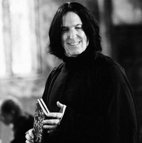 Severus Smiles Snape Harry Harry Potter Severus Harry Potter Severus Snape