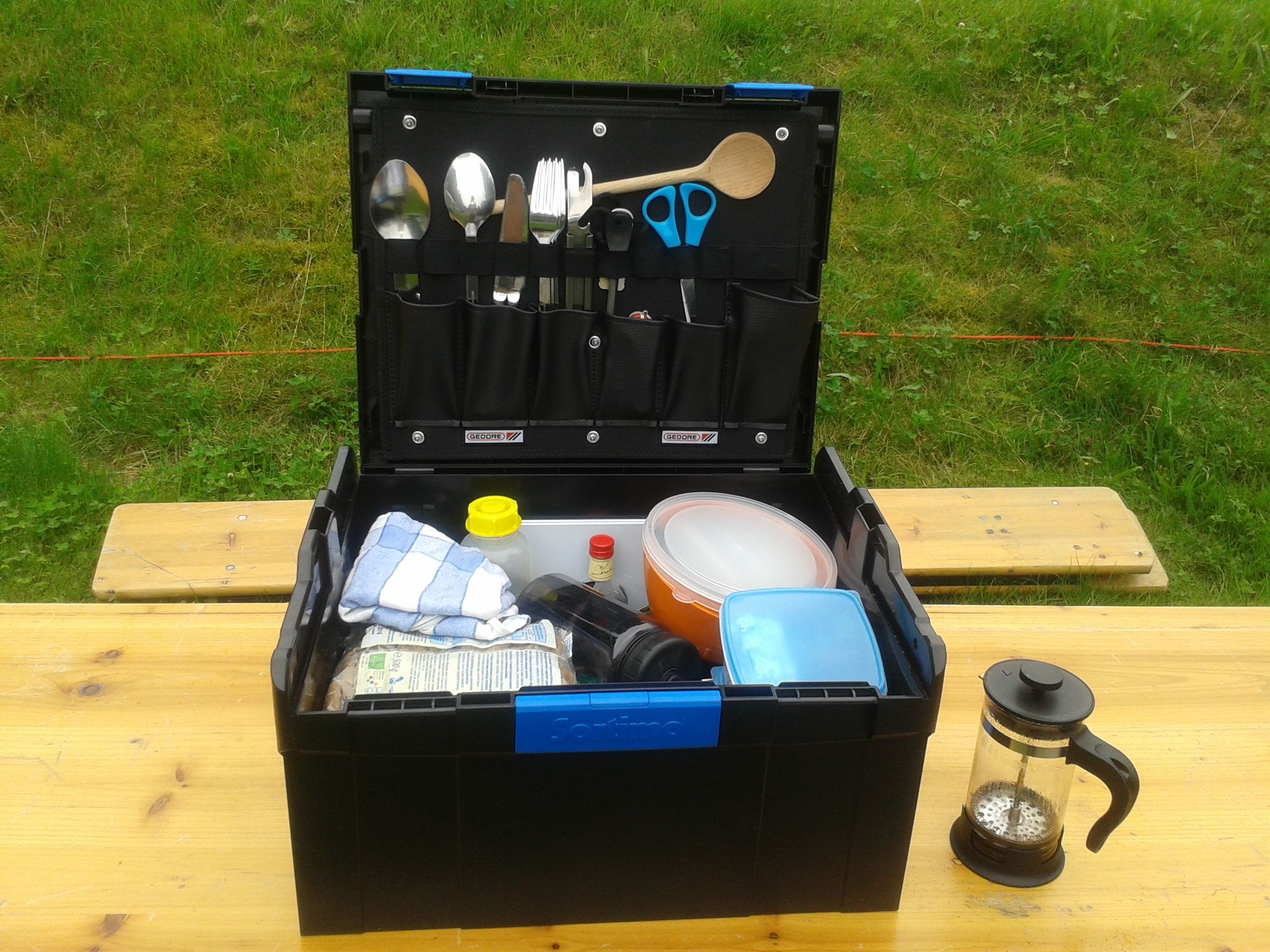 Küchenbox Camping ~ L boxx camping sortimo tools systainer camping