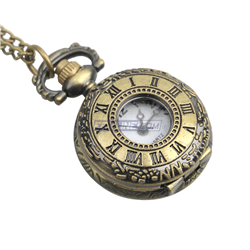 fob watch necklace