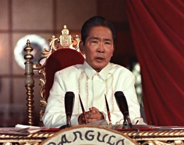 One of the most corrupt rulers in history, overthrown US-backed President of the Philippines - Ferdinand Marcos. Guilty for the murder and assassination of 3,257 people, the torture of 35,000, and the imprisonment of a further 70,000.